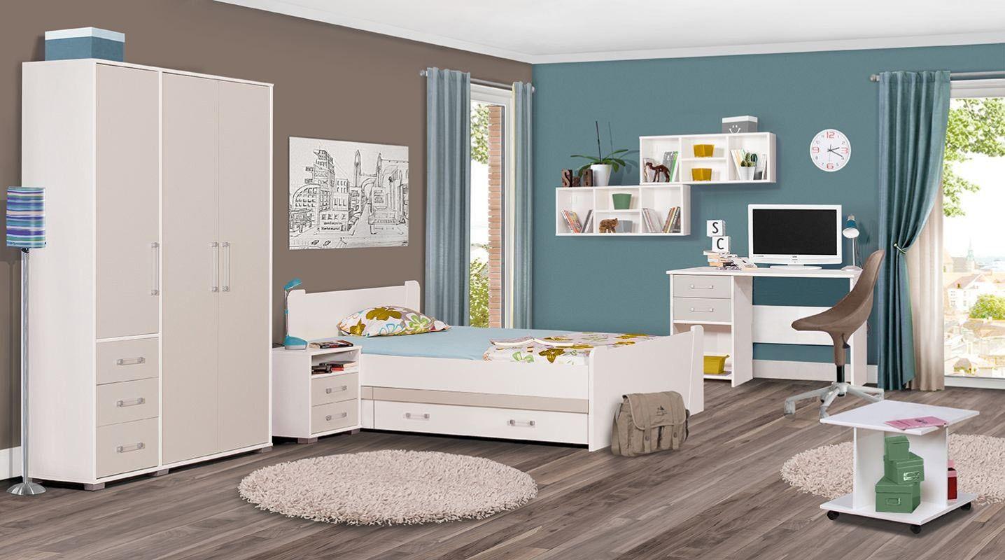Kinderzimmer Komplett Set A Benjamin, 8teilig, Farbe