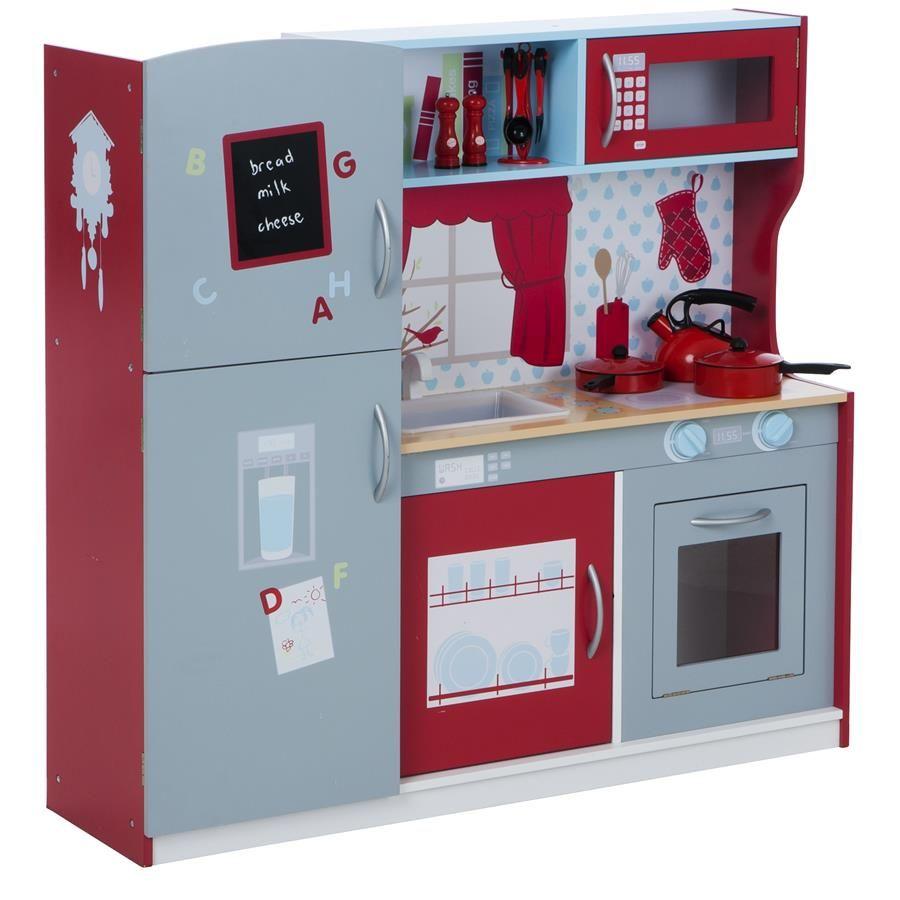 Wooden Kitchen Play Set   Kmart   Playroom   Pinterest   Wooden ...