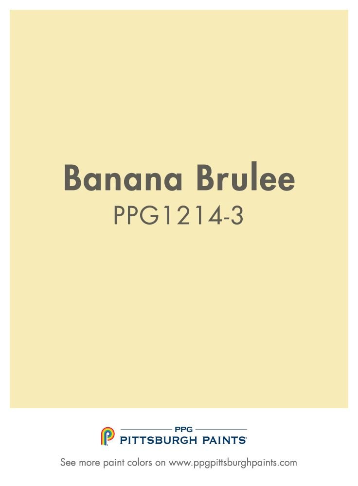 Different Shades Of Yellow Paint banana brulee paint color is part of the yellows color family