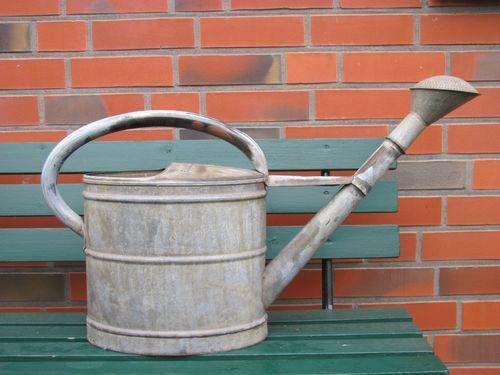 Alte SCHNEIDER Gießkanne - 15 Liter