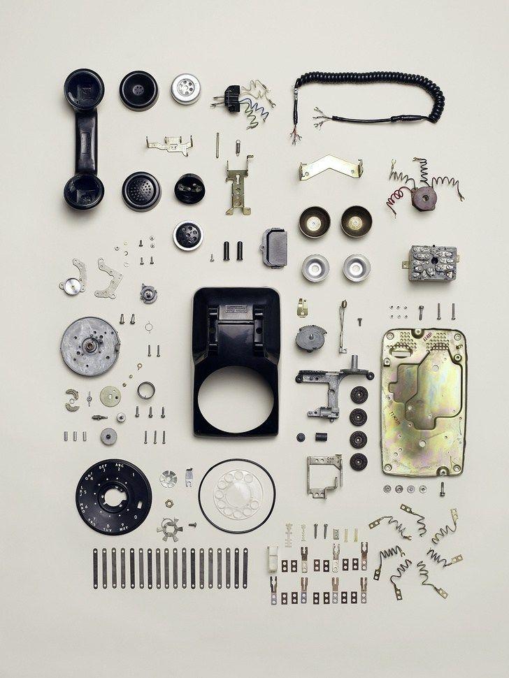 外国人「見惚れてしまった」機械を分解してパーツをひたすら並べた写真 ...