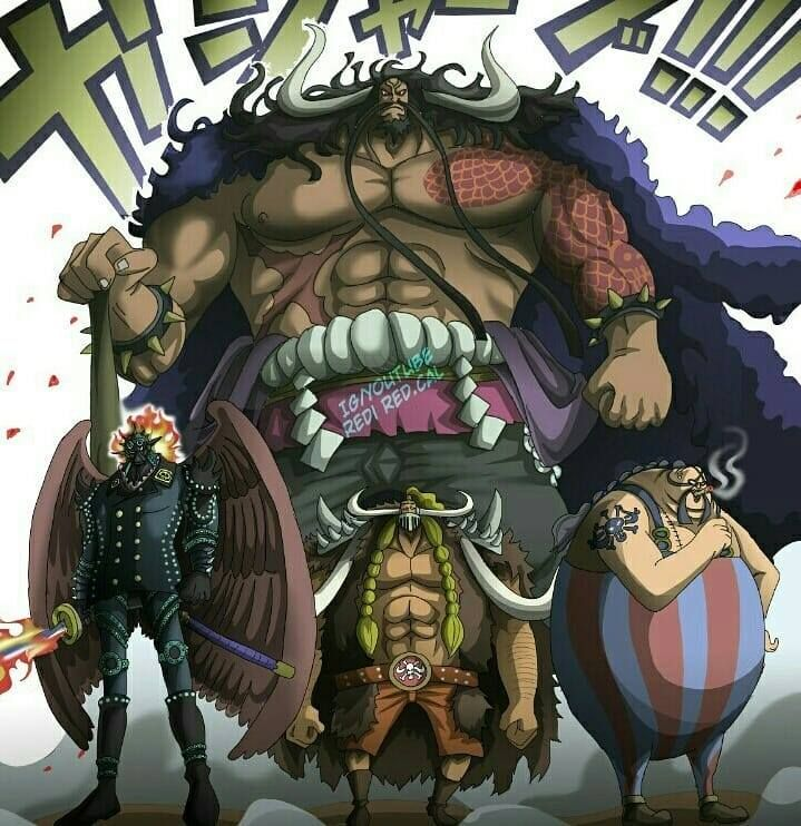 The 3 Commanders Of The Straw Hat Pirates - One Piece
