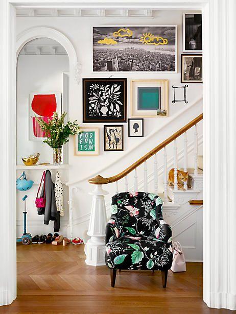 New york city skyline print black gray white gold productthumbnail decoration diy - La casa de los suenos olvidados ...