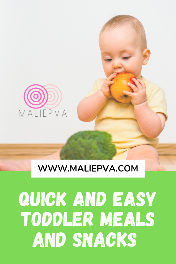 Quick and Easy Toddler Meals and Snacks images