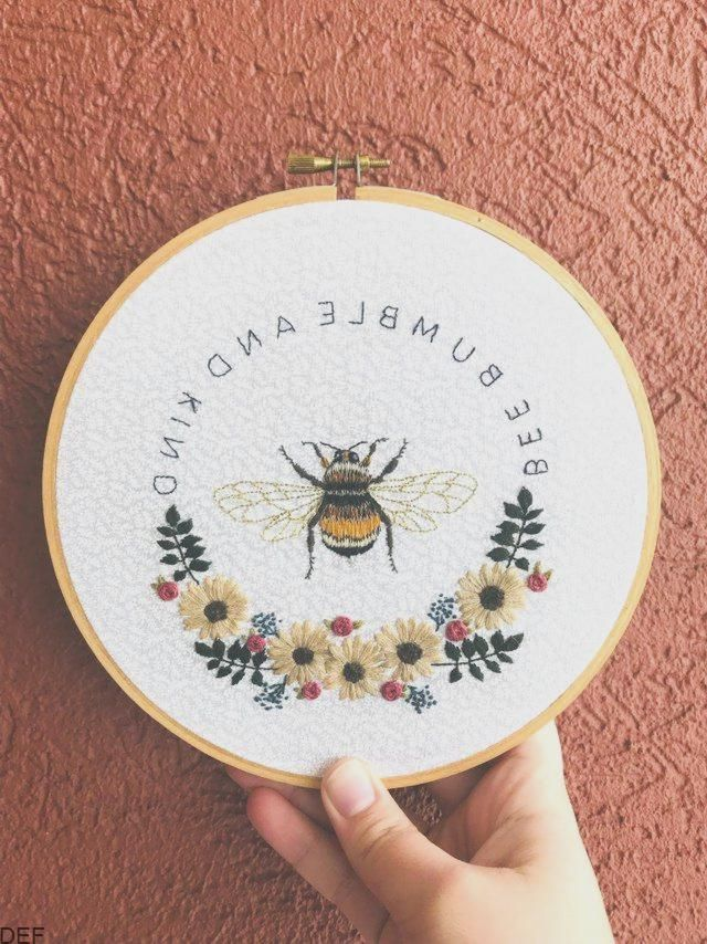 Reddit Die Titelseite Des Internets Embroidery Inspiration Hat Embroidery Machine Bee Embroidery