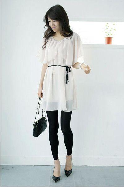 Collared Dress Google Images White Sheer Dress Dresses With Leggings Floaty Dress