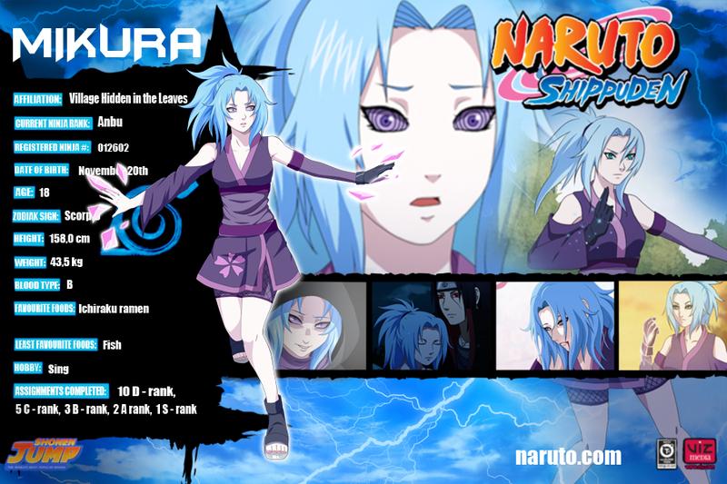 Mikura by SIMCA Naruto shippuden characters