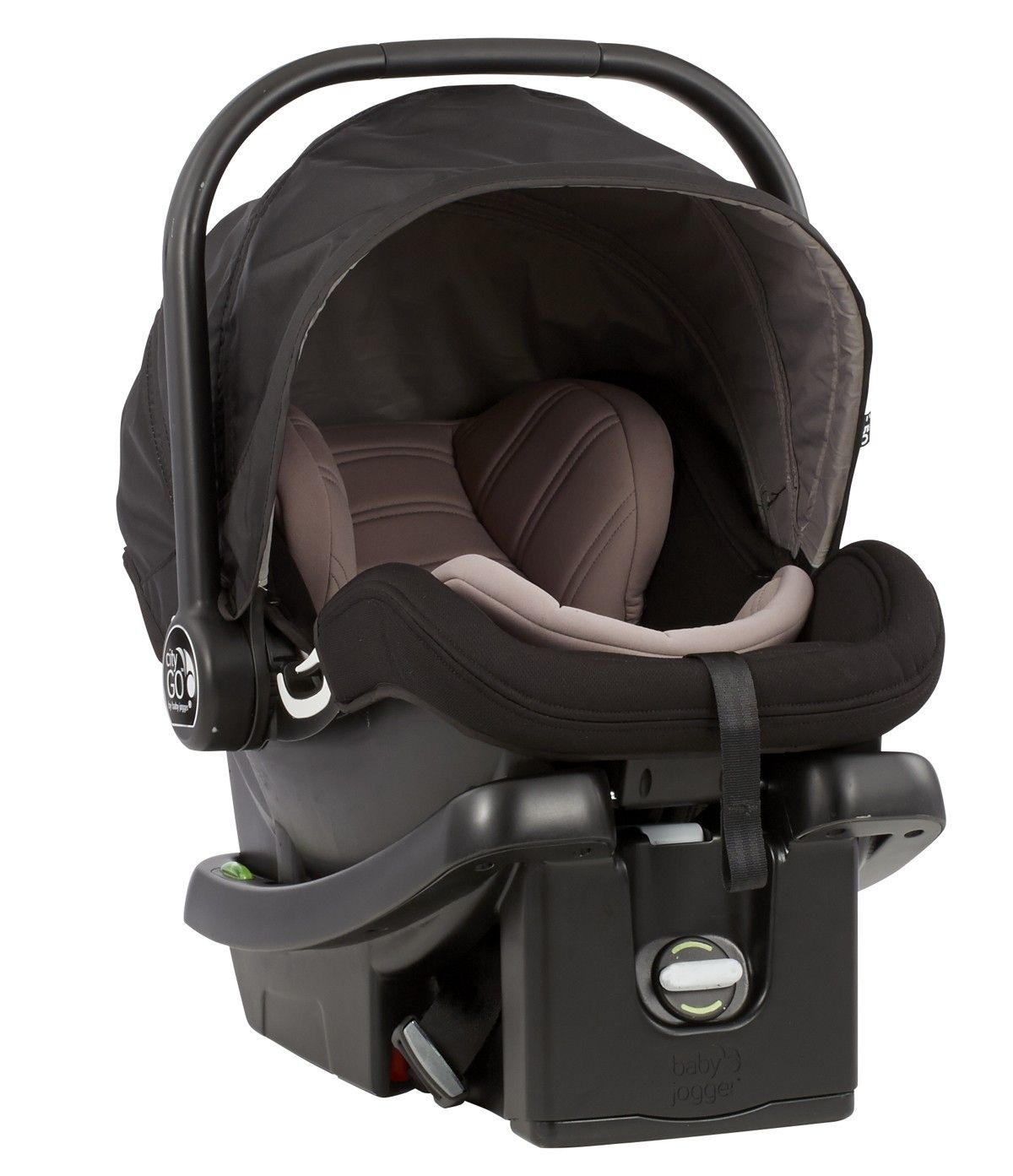 The Baby Jogger City Go Infant Car Seat Provides Same Safety Security And Comfort That Made Joggers Strollers Famous