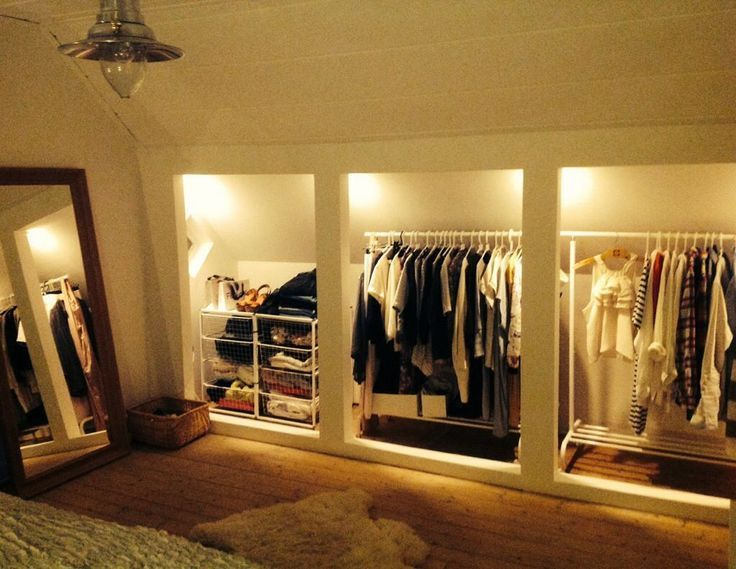 Photo of 11+ inexpensive loft organization ideas #loft #organisationsideen # pre… – wardrobe ideas