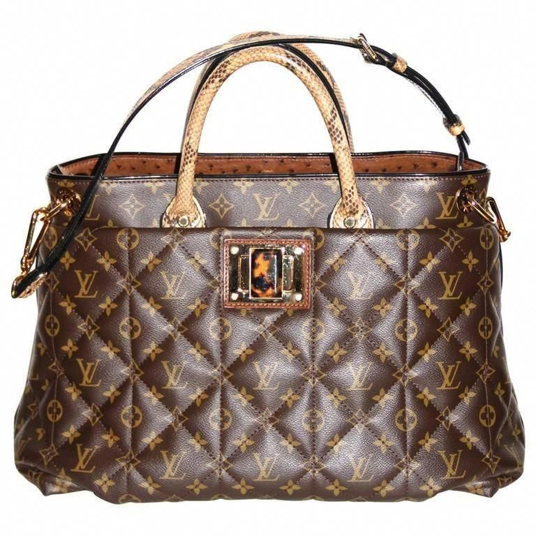 3c530acfaabf Louis Vuitton Tote Monogram Etoile Bag Quilted Canvas Limited Edition