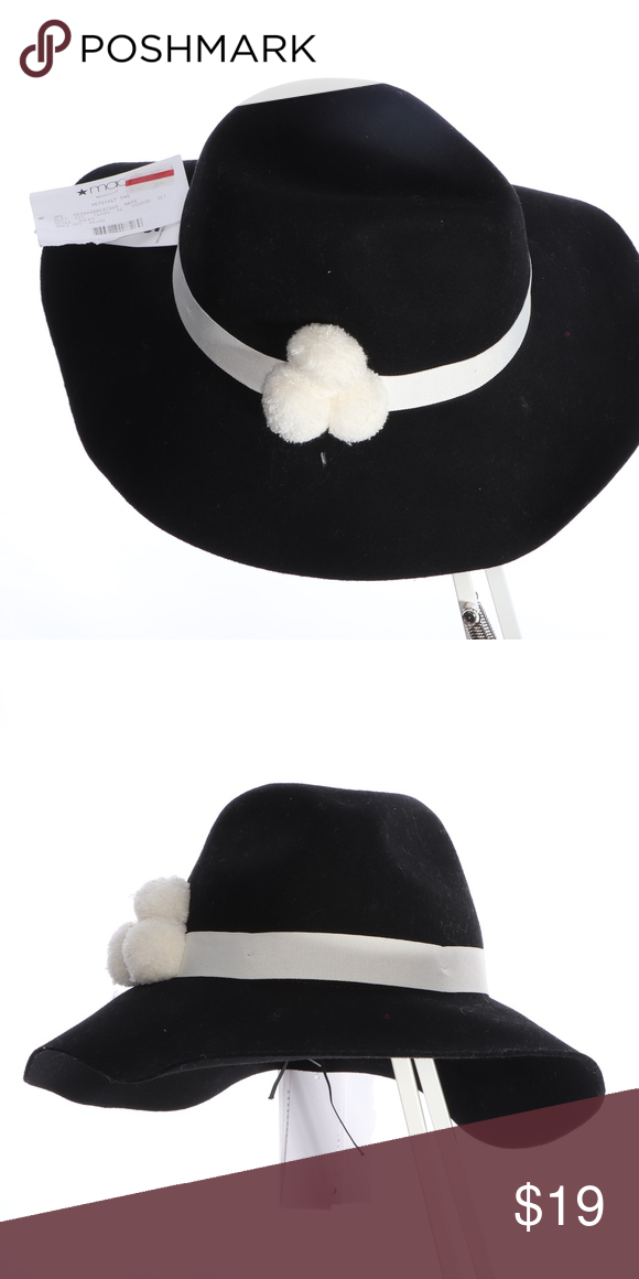 2650e6df191 August Hat Company Floppy Black Hat White Band August Hat Company Floppy  Black Hat White Band