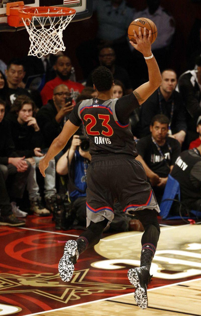 Anthony Davis Nike Air Max Audacity 2016 BHM PE 2017 NBA