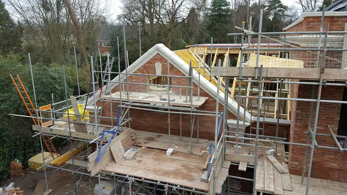 Stone Coping Laid On Gable Wall Gable Wall Coping Stone Wall