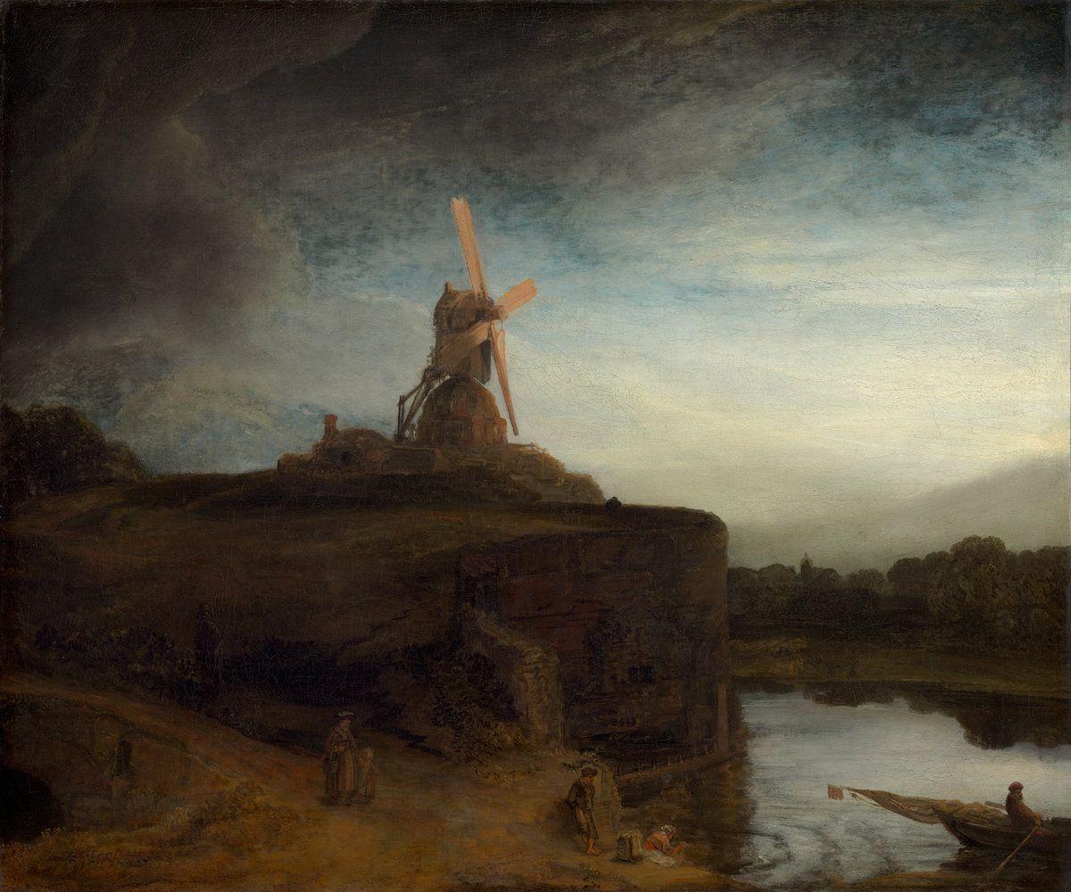 Le Moulin (1645-1648, National Gallery of Art, Washington D.C.) de ...