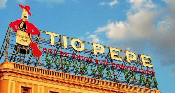 Puerta del Sol. Madrid.