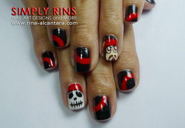 Related image | Pirate nails, Nails, Nail art