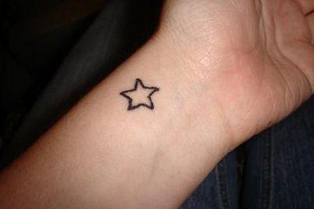 tattoo de estrella