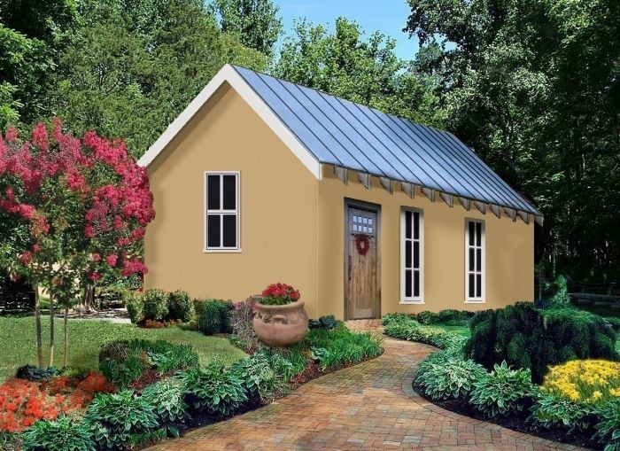 This Is The Color Stucco Homes Small Zen House Paint Colors For Home