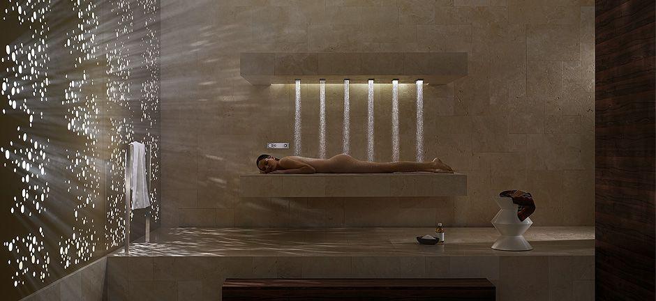 Horizontal Shower / Bathroom & Spa / Dornbracht