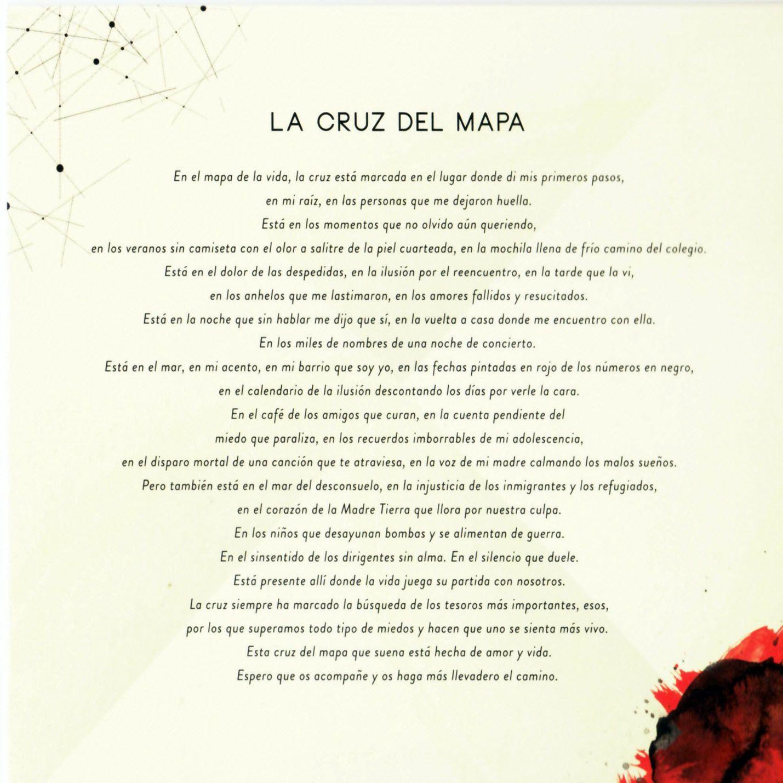 Caratula Interior Frontal De Manuel Carrasco La Cruz Del