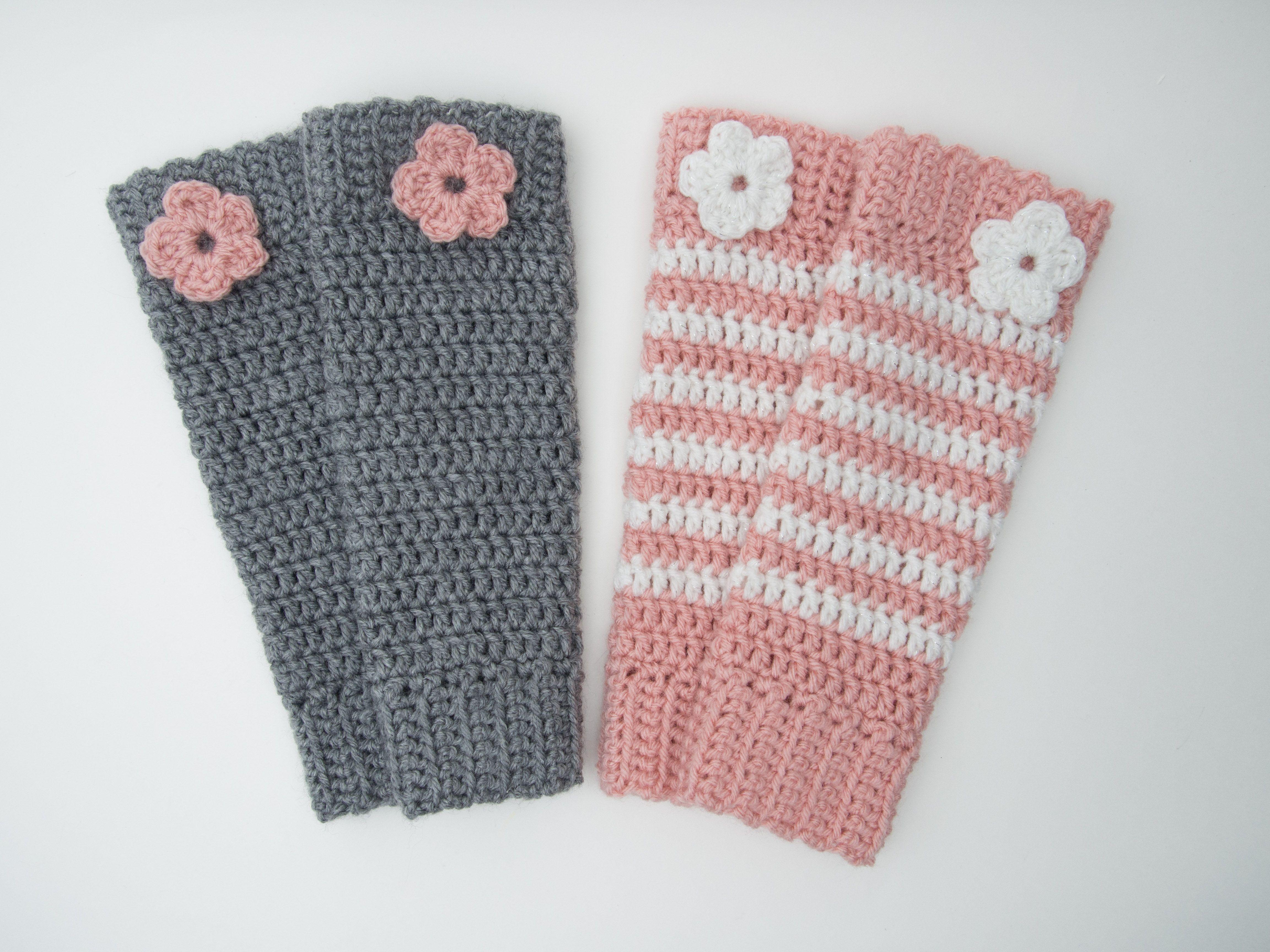 Crocheted Leg Warmers from whatsknottolove.ca #crochet #legwarmers ...