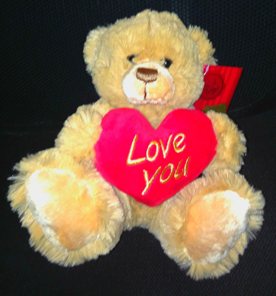 valentines day i love you teddy bear henry with heart 20cm keel toys - Valentine Day Bears