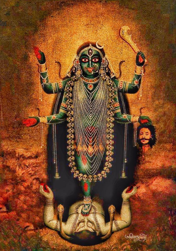 My mother Maha Kali Devi | Durga goddess, Kali mata