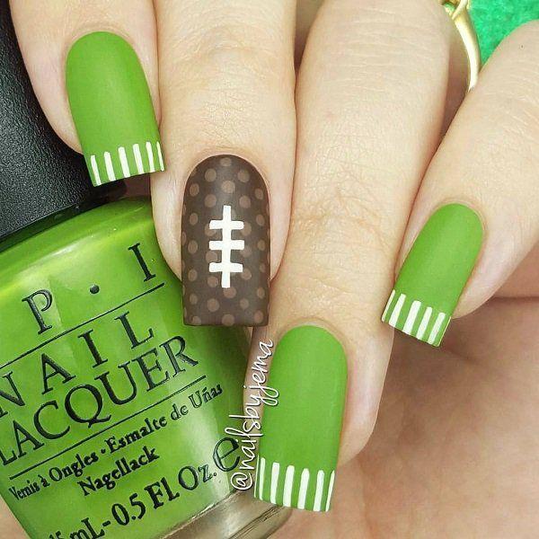 55 Stripes Nail Art Ideas | Diseños de uñas, Maquillaje y Decoración ...