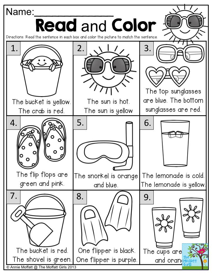 Summer Review Packets! Summer worksheets, Kindergarten