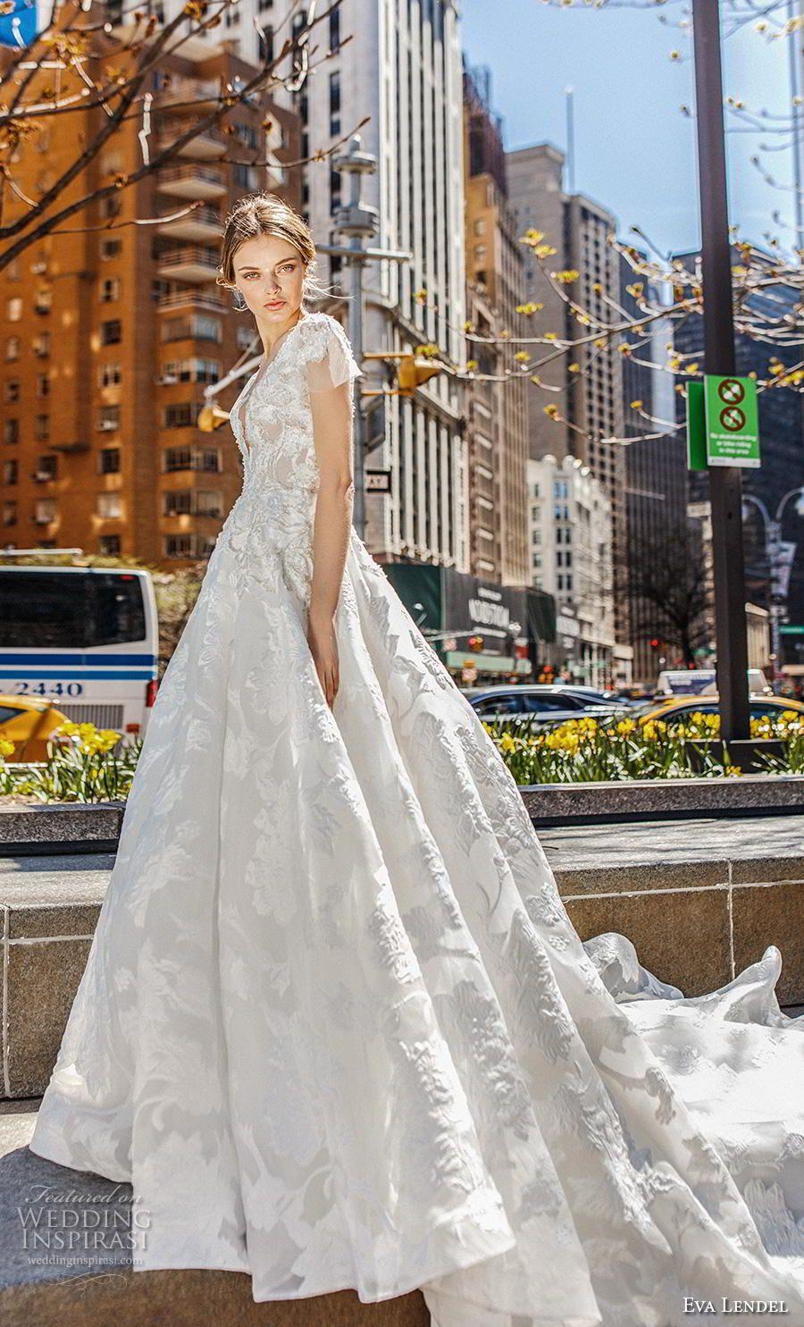 Lace up back wedding dress november 2018 Eva Lendel  Wedding Dresses u ucSunriseud Bridal Collection in