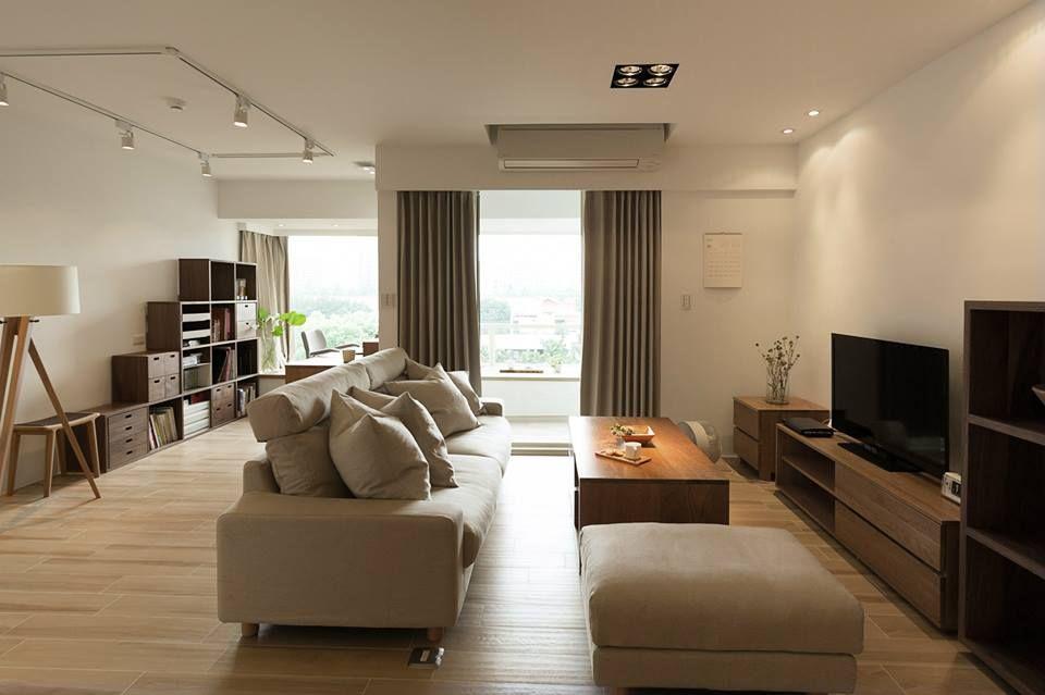 Woonkamer Van Muji : Muji apartment apartments in