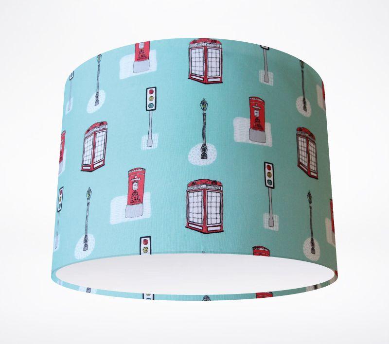 Phone box lampshade lampshade parade