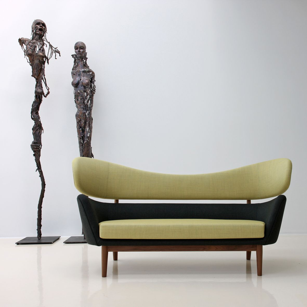 This is why 50s furniture rules beautiful sofa by designer finn juhl who introduced danish modern minimalist wood furniture to america