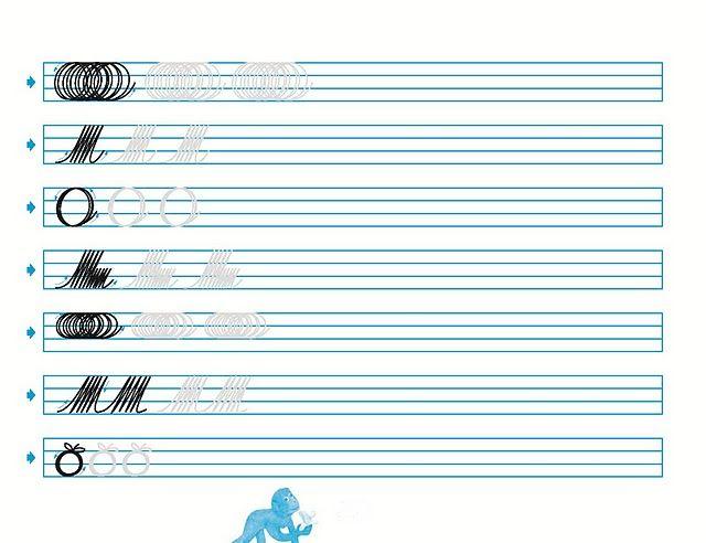 Cuadernos de caligrafia palmer para imprimir - Imagui | PALMAR PARA ...