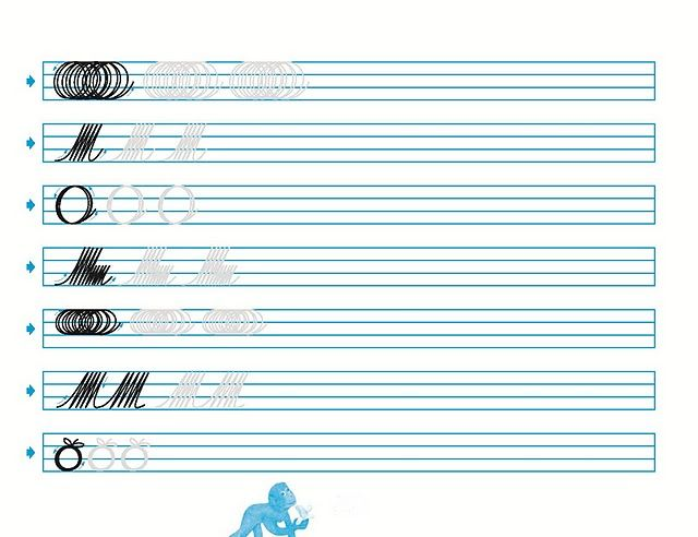 Cuadernos de caligrafia palmer para imprimir imagui caligrafia handwriting penmanship y - Como mejorar la caligrafia ...