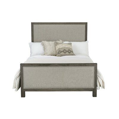 Pin By Meredith Futhey Norris On Bedroom Decor Standard Furniture Upholstered Panel Bed Furniture