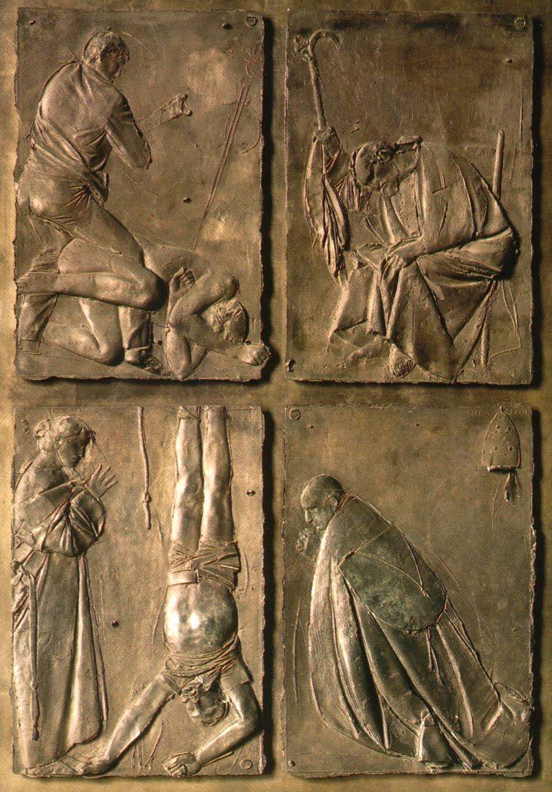 MANZU Giacomo Manzoni - Italian (1908-1991) ~ The Death Doors / St. Peters Basilica Rome & MANZU Giacomo Manzoni - Italian (1908-1991) ~ The Death Doors / St ...