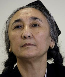 Rebiya Kadeer, leader in exile of the Uighur people in China and human rights activist