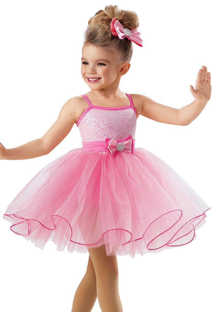 Sequin Curly Hem Tulle Dress -Weissman Costumes | Dance costumes ...