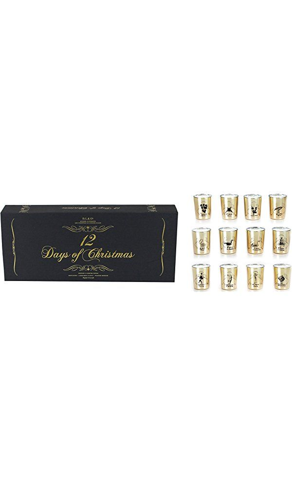 D.L. & Co. 12 Days of Christmas Candles Gift Set Best Price