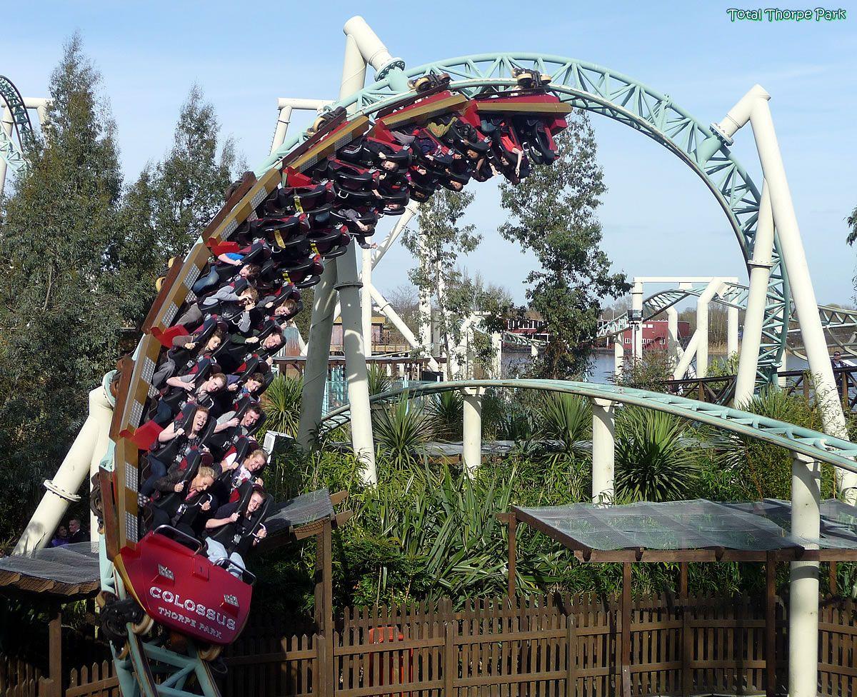 Best Colossus Thorpe Park Thorpe Park Roller Coaster 400 x 300