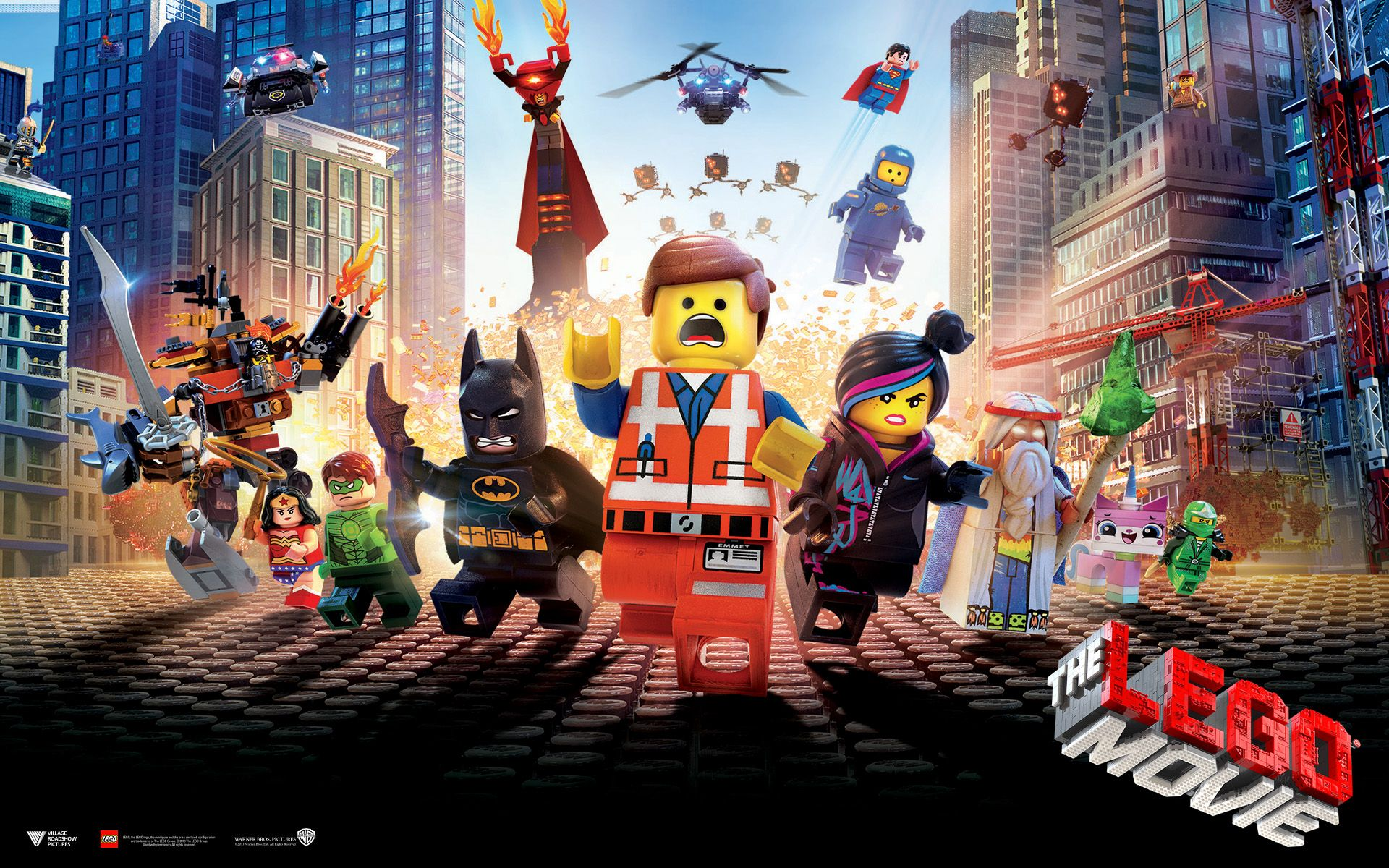 Sheet Lego The Movie HD Wallpaper http//1sthdwallpapers