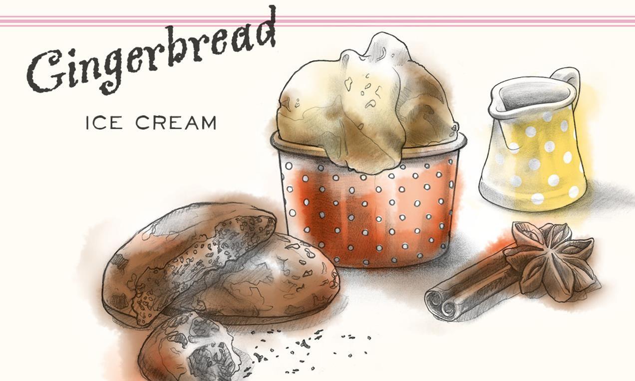 Gingerbread Ice Cream Rezept | Dr.Oetker
