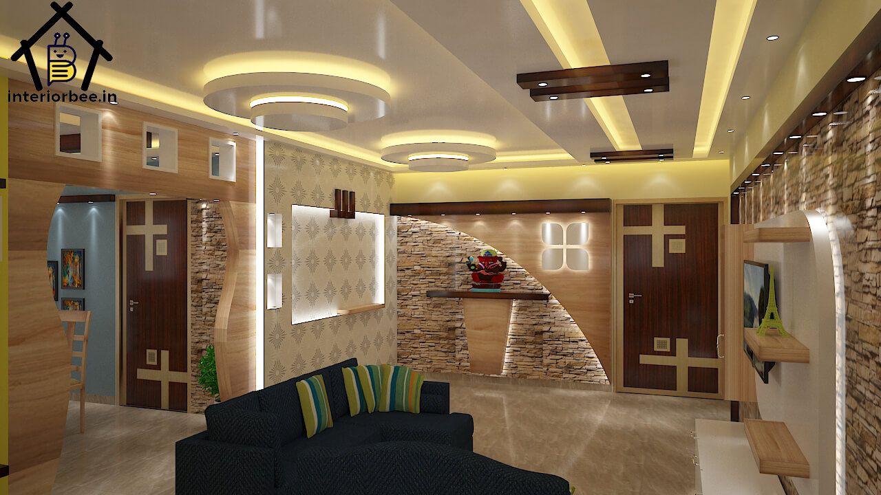 Gallery - Interior Bee in 2020   Pop false ceiling design ...