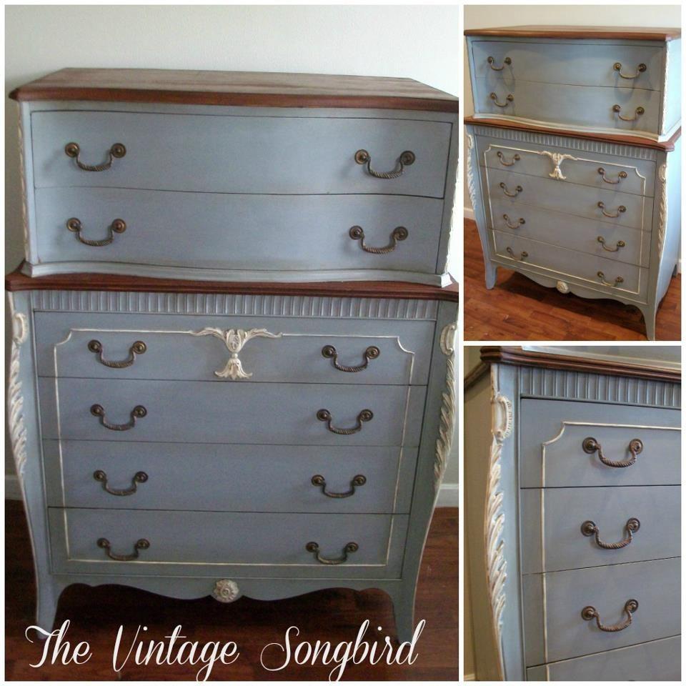 Paris Gray Chalk Paint Dresser: Chalk Paint® By Annie Sloan. Blend Of Paris Grey, French
