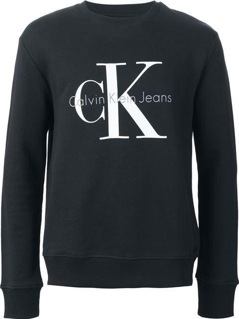 Calvin Klein Jeans Ck Jeans Logo Print Sweatshirt Calvinkleinjeans Cloth Sweatshirt Ck Jeans Calvin Klein Manner Sweatshirt