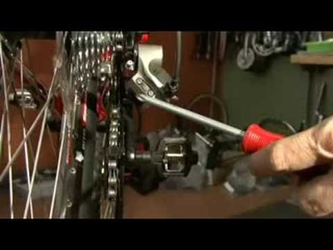 Bicycle Maintenance How To Adjust A Rear Derailleur Bicycle Maintenance Bike Repair Bicycle