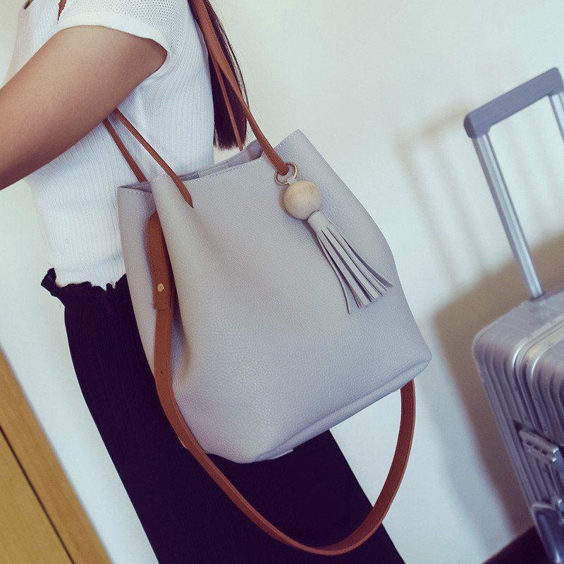 Women Bag Women's Travel Shoulder Bolsa Bucket Bag Small Handbags ...