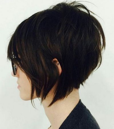 Stacked Haircut Pixie Hairstyle