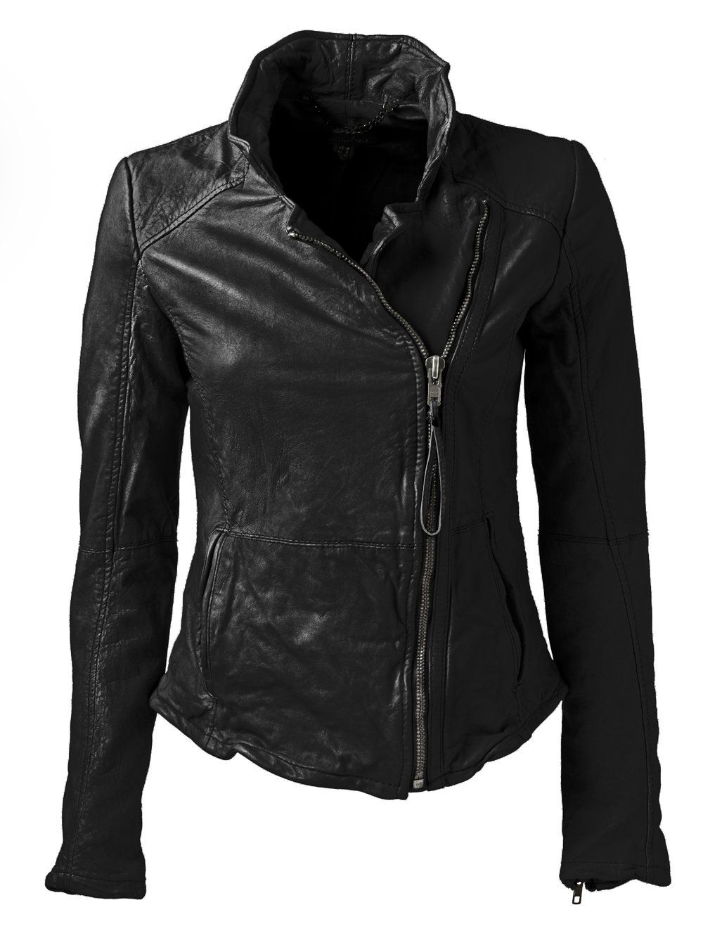 e036455c713e Kendyll Leather Biker Jacket in Black | Jacket love! | Muubaa ...